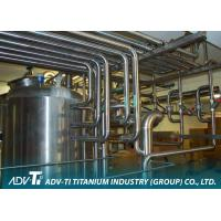 China Seamless Titanium Pipe ASME SB338 GR2 Titanium Tubing For Chemial And Oil Industry wholesale