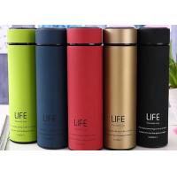 China Classical Life Vacuum Cups Flask , Round Stainless Steel Drink Bottles wholesale