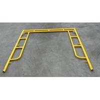 China Yellow Coated Low Carbon Walk Through Scaffolding Frames American Design 5x5 wholesale