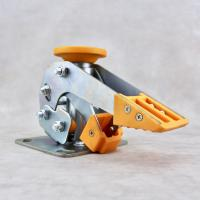 """China 4 5 6 8"""" Heavy Duty Caster Wheel Accessories Thermoplastic Polyurethane Base wholesale"""