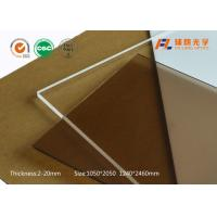 China Robot cover high gloss acrylic PMMA Acrylic Sheet for industrial aluminum profile, machine windows on sale
