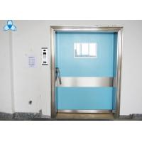 China Outside Powder Coated Hospital Air Filter Blue Color With Single Swing Door wholesale