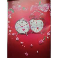 China Best wedding gift for marriage heart table clock on sale