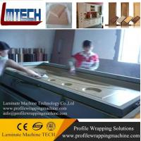China TM2480 pvc door making vacuum membrane press machine wholesale