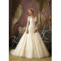 China 2014 Lace Long Sleeve Wedding Dress (OGT14007W) wholesale