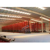 China Q235B Steel Cantilever Storage Racks , Selectivity Heavy Duty Cantilever Racking wholesale