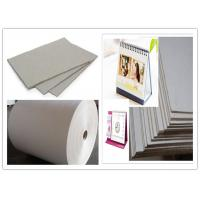 China One layer Grayboard Laminated Grey Board Paper for Desk Calendar wholesale