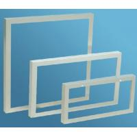 Aluminum Extrusion Frame For Solar Panels , Anodized Extrusion Profiles With Corner Key Joint