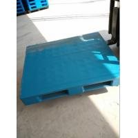 China Hot sale 1200x800x150mm flat top with three skids plastic pallets from China wholesale
