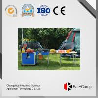 China EATCAMP Outdoor Cooking Station With 7.4 Kgs Aluminum Temperature Control Suitcase In Trunk For Picnic wholesale