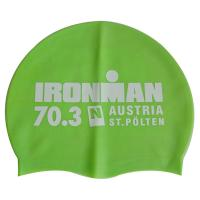China Silicone Ironman Racing Swim Cap with Number wholesale