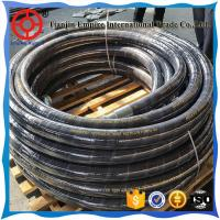 China STEEL WIRE BRAIDED HOSE MANUFACTURER RUBBER HOSE HIGH PRESSURE wholesale