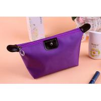 China Dumpling Shape Ladies Wash Bags  Yellow Green Sugar Color Poylester on sale