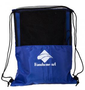 China Cheap Promotional Mesh Polyester Football Drawstring Bag-HAD14018 wholesale