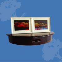 China Wooden Wall Shelf with Drawers (WSV613) wholesale