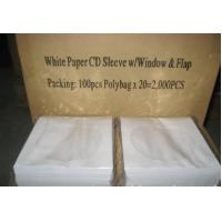 China paper cd sleeves/paper cd envelope wholesale