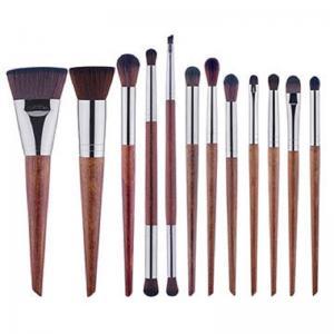 China Makeup brush set, 10 Brushes Cosmetic Set,Wood Handle Brush,Synthesis Hair wholesale