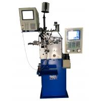 China Custom Automatic Spring Machine , CNC Spring Former With Display Control on sale