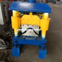China Cold Roll  Metal Roof Ridge Cap Forming Machine Hydraulic Cutting Type wholesale