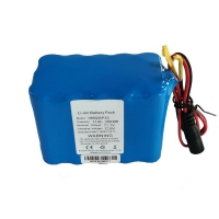China 18650 11000 MAH 12 Volt Deep Cell Lithium Battery Pack wholesale
