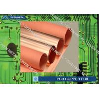 Quality Roll Size S - HTE Electrolytic Copper Foil For PCB  Made Of Red Copper for sale