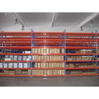 Buy cheap Long Life Span Metal Storage Shelving 50mm Pitch Easy Assembly For Warehouse from wholesalers