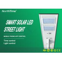 China Energy Saving 90w Led Solar Street Light With Battery And Panels Waterproof wholesale