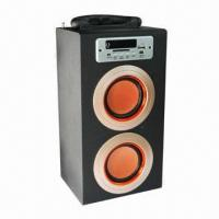 China Hi-Fi Speaker with LED Show, Supports USB, SD Card, FM Radio and Rechargeable Battery on sale