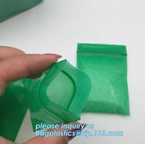 China Clear Mini Plastic Zipper Pouch Zip Lock Plastic Bags LDPE Zip Lock Bag with Tear Notch Custom k Bag With, bagplas on sale
