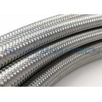 China Industrial Flat Stainless Steel Braided Sleeving 90MPA 600V For Cable Conducting wholesale