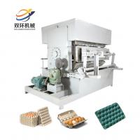 China lowest price 8*4 egg tray machine/paper pulp molding machinery/used paper folding machine on sale