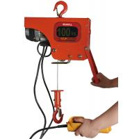 China Heavy Duty Electric Wire Rope Hoist / 100kg Electric Chain Fall Hoist on sale