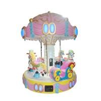 Buy cheap Carousel Ride Kids Arcade Machine For 6 Players Fiberglass Material 350KG Weight from wholesalers