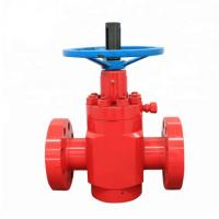 Buy cheap High pressure Flat Gate Valve according to API Spec 6A for well drilling from wholesalers