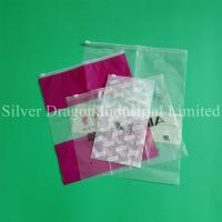 China Custom zipper bags with slider wholesale