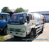 China Right Hand Drive Forland 4 M3 cement mixer lorry 130 Hp Euro 3 Engine wholesale