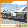 China Aluminum Greenhouse-Titan series-806X406X273CM-Green/Black Color-10mm thick PC wholesale