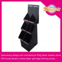 China 1 - 4C Color Duplex Board / Corrugated Paper Custom Pop Displays with Offset, Silk Screen, Oil Printing wholesale