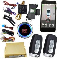 Buy cheap Gps Auto Tracking Vehicle Security Car Alarm With Smartphone App Central Lock Or Unlock from wholesalers