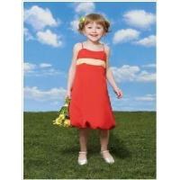 China Red Flower Girl Dresses wholesale