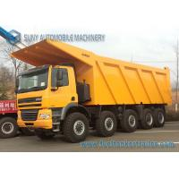 China GINAF 10 x 6 HD Mining Dump Truck Chassis PACCAR MX340 340 Kw / 460 Hp wholesale