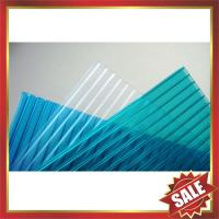China Hollow polycarbonate panel,twin-wall polycarbonate panel,twinwall polycarbonate panel-excellent building cover on sale