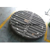 Stainless Steel Wire Mesh Demister Pad Round / Rectangle Shape High Density