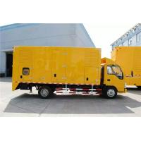 China DC24V Electrical Starting Truck Mounted Generator Sets 250kW 9100 * 2500 * 3500mm wholesale