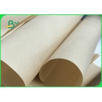 Buy cheap Wrapping Food Safe MG Brown Kraft Paper Roll Of 24 Grams 32 Grams FDA FSC ISO from wholesalers