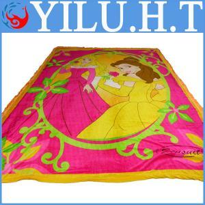 China 2014 fashionable velvet soft fur throw blanket wholesale