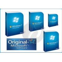 China genuine Windows 7 Pro Retail Box windows 7 home premium 32bit x 64 bit Retailbox wholesale