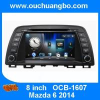 China Ouchuangbo multimedia kit stereo navi kit for 2014 Mazda 6 support MP3 CD BT Malawi map wholesale