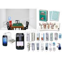 China Casino Games Barcodes Marked Cards Poker Scanner Water Cooler Camera wholesale