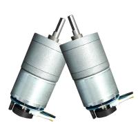 China Metal DC Worm Drive Motor , Small Worm Gear Motor 50mA 14RPM No Load Speed wholesale